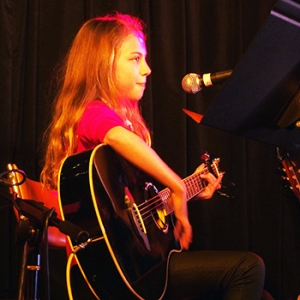 Audrey At The Guitar Academy Student Concert